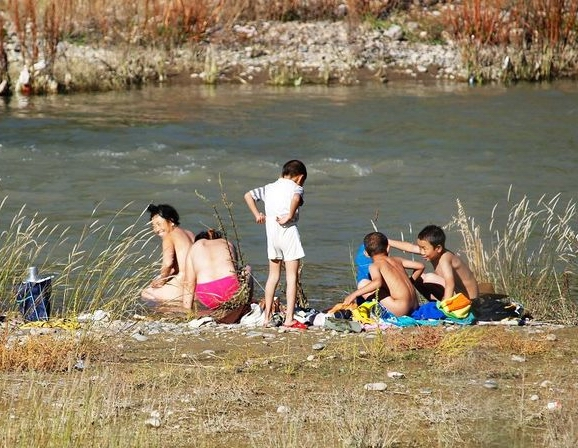 Bathing Festival in Tibet