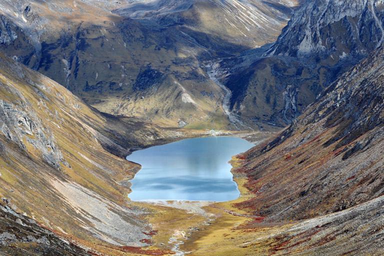 Lago Lhamo La-tso Tibet