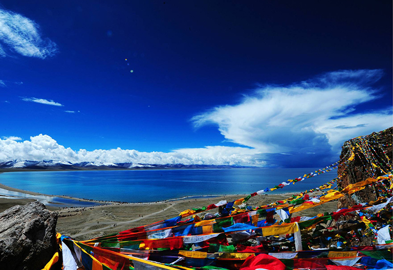 Beautiful Namtso Lake
