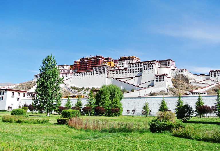 Potala Palace of Tibet