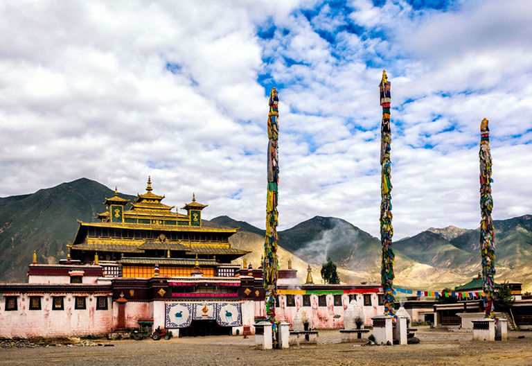 The Entrance of Samye Monastery