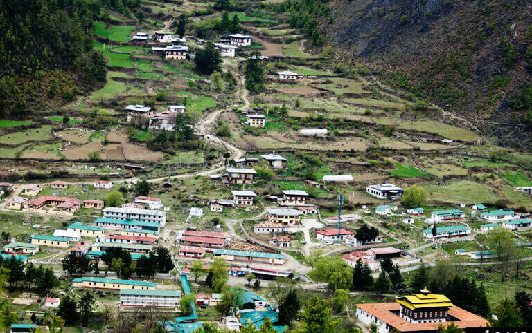 Small Villages in Haa Valley