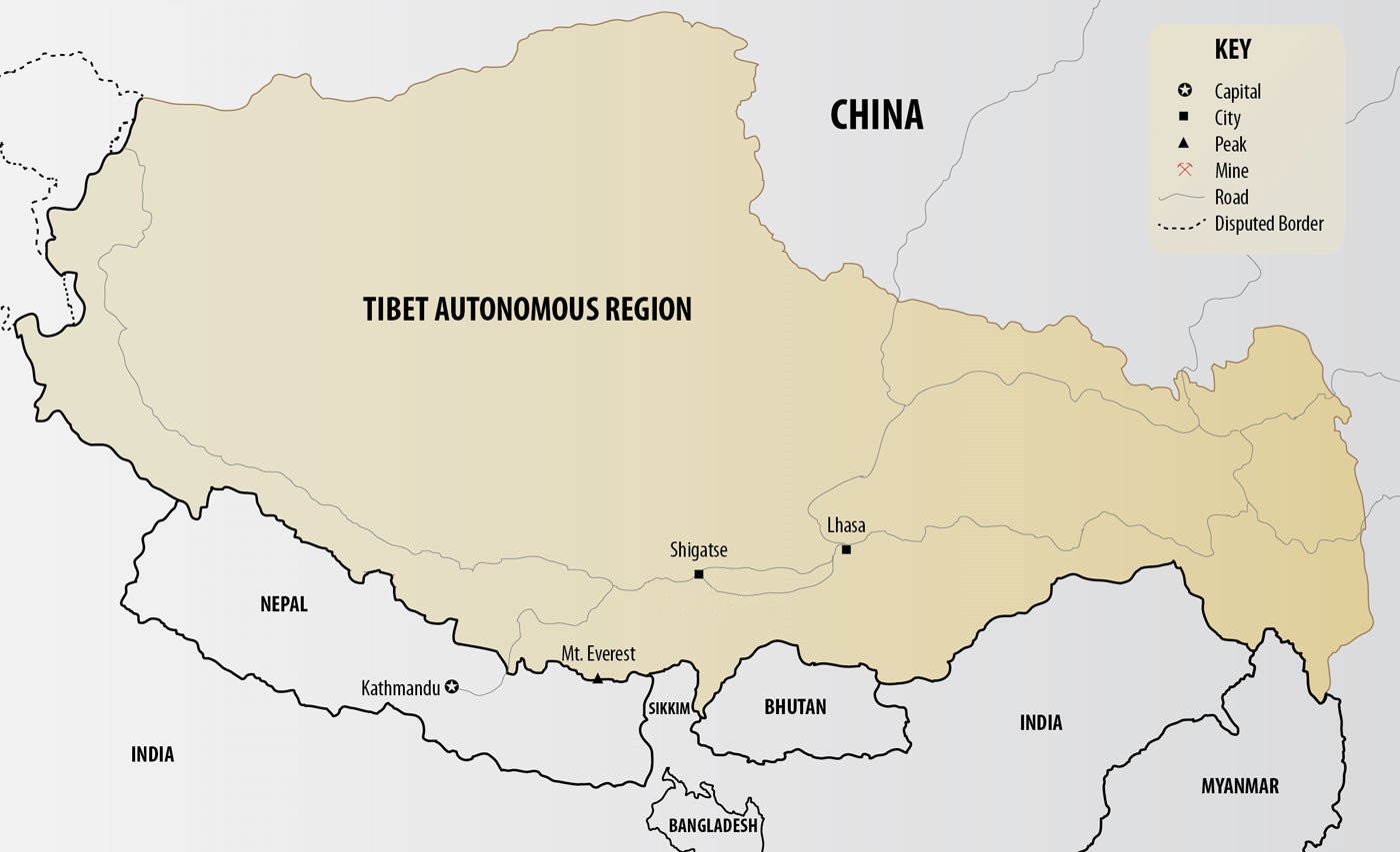 Bhutan Maps, Bhutan on World Map, Bhutan Location, Political ...