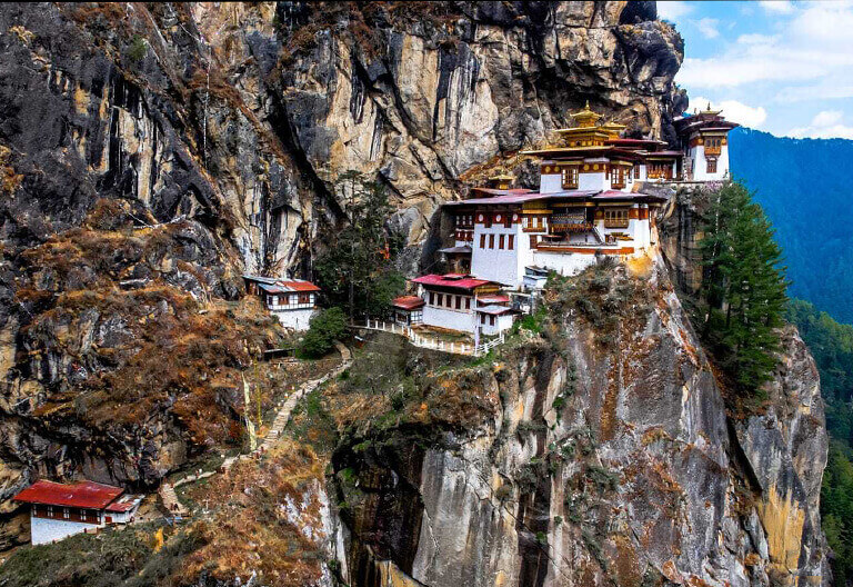 Cliffside Tiger's Nest Monastery