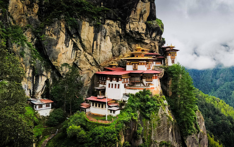 Takshang is also known as Tiger's Nest Monastery