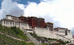 Potala Palaca in Lhasa