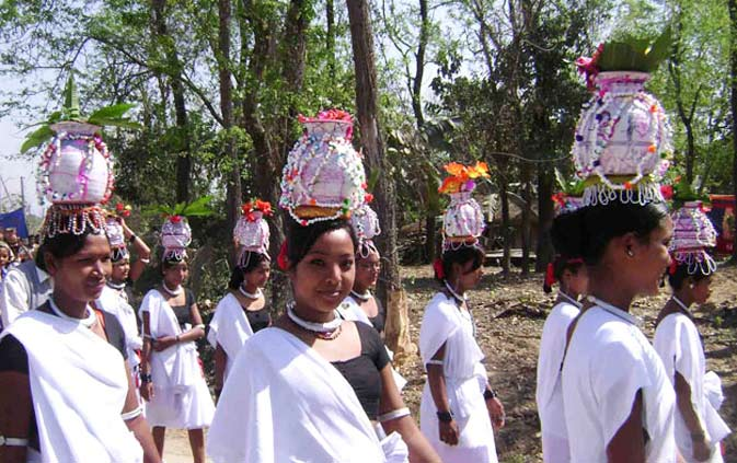 Tharu Cultural Program in Chitwan