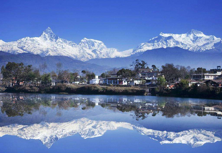 Beautiful Landscape of Pokhara