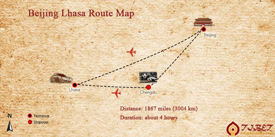 Beijing to Lhasa Flight, Flights from Beijing to Lhasa 2018/2019