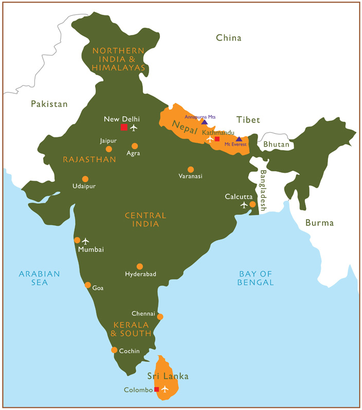 Maps of nepal tibet bhutan 20182019 map of nepal india gumiabroncs Image collections
