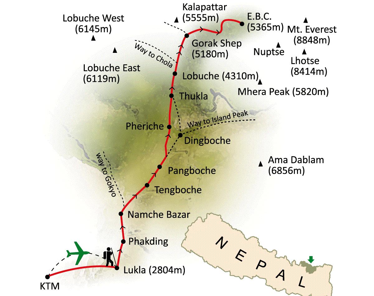 Maps Of Nepal Tibet Bhutan 2019 2020