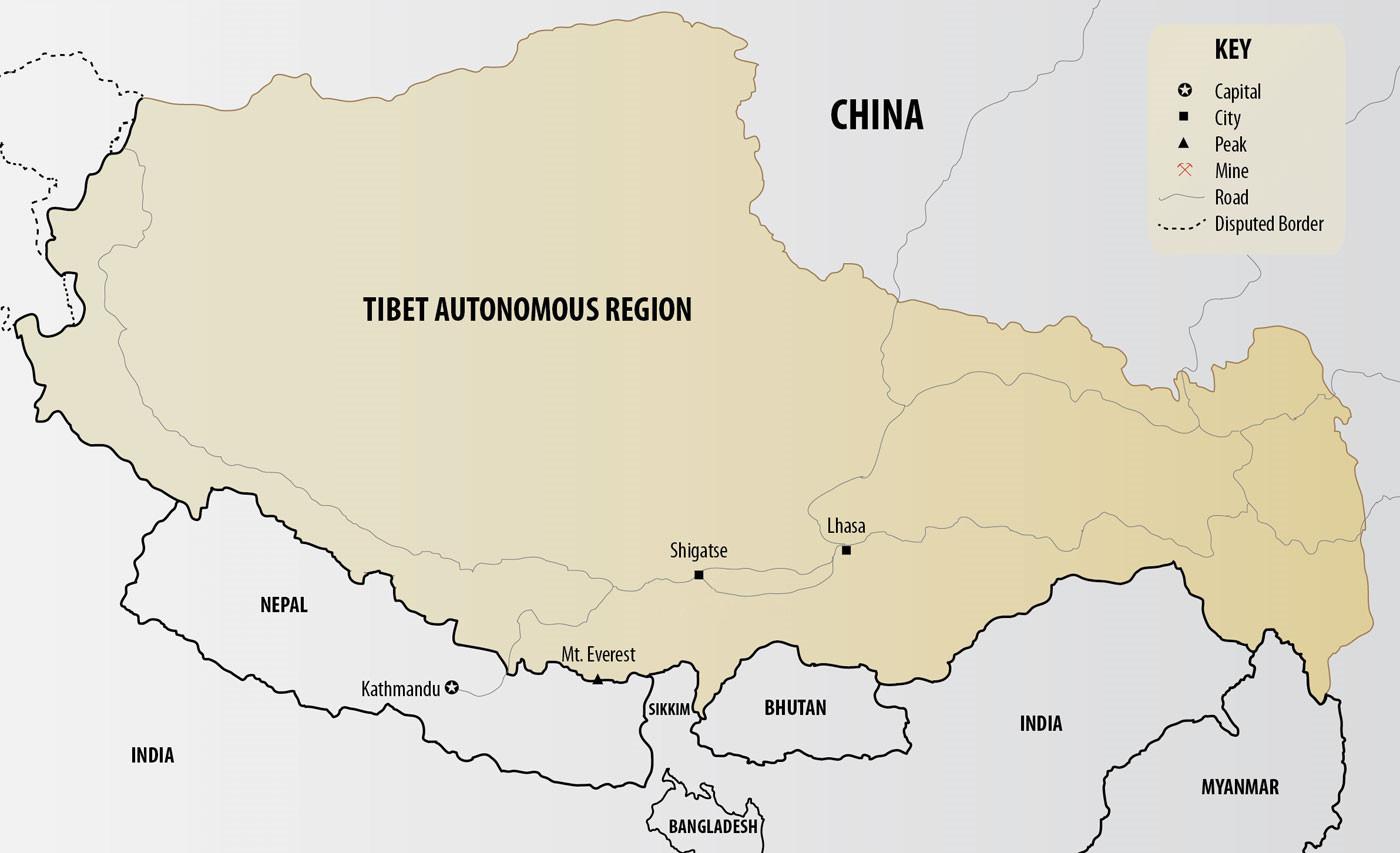 Maps of nepal tibet bhutan 20182019 nepal bhutan map gumiabroncs Image collections