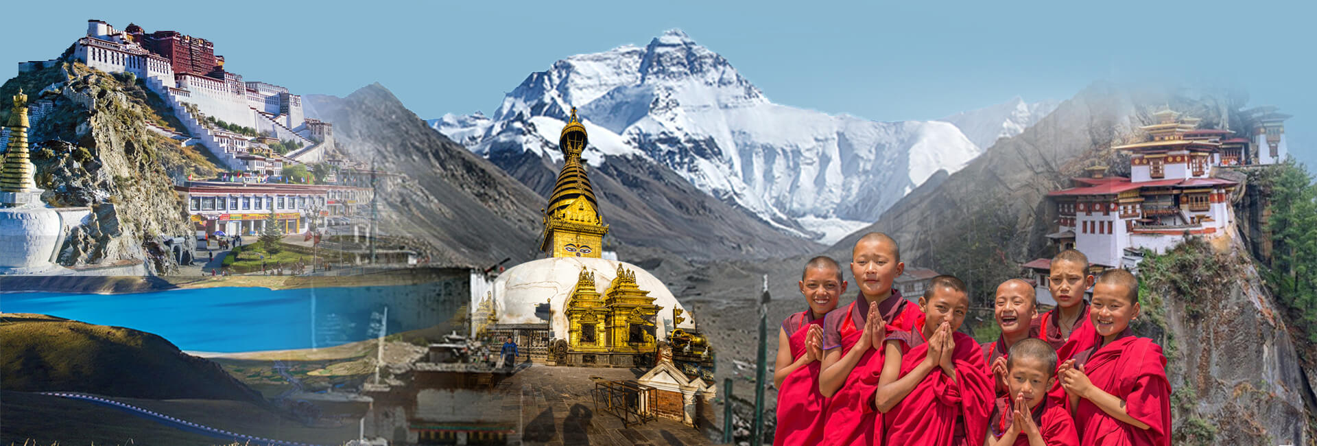 Tour Nepal Banners App Marketing Banners