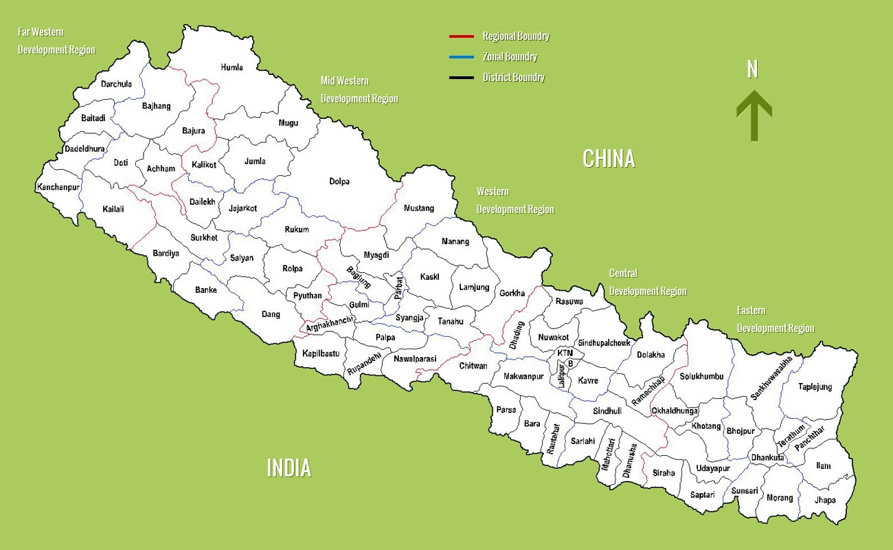 Nepal Maps Detailed Nepal Travel Maps 20182019
