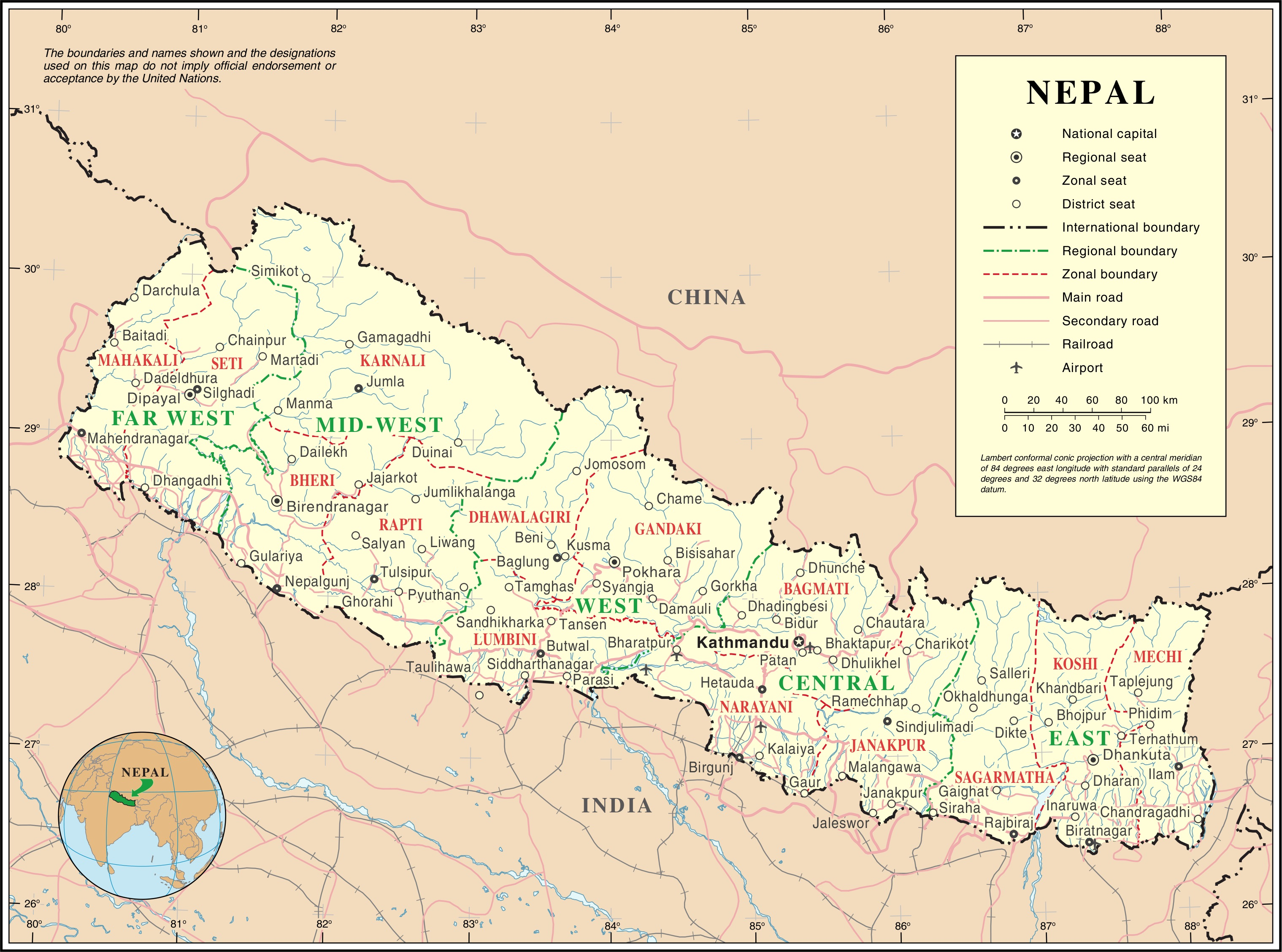 Nepal Karte Download.Kathmandu Travel Maps Tourist Map Guide In Kathmandu