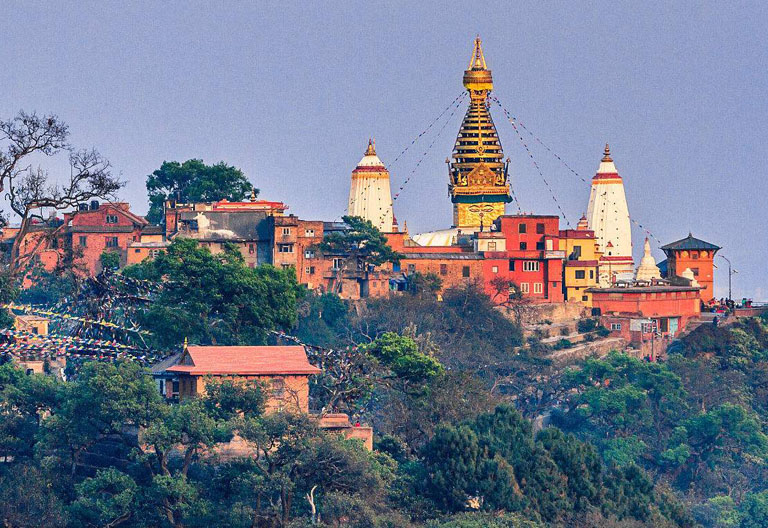 Panoramic View of  Swayambhunath