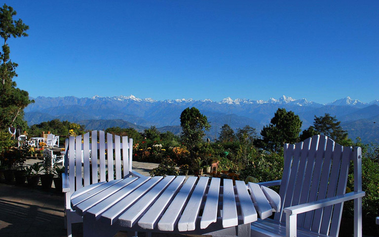 Enjoy Himalaya Mountains Views at Nagarkot