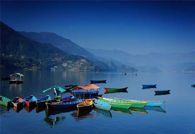 Picturesque View of Phewa Lake