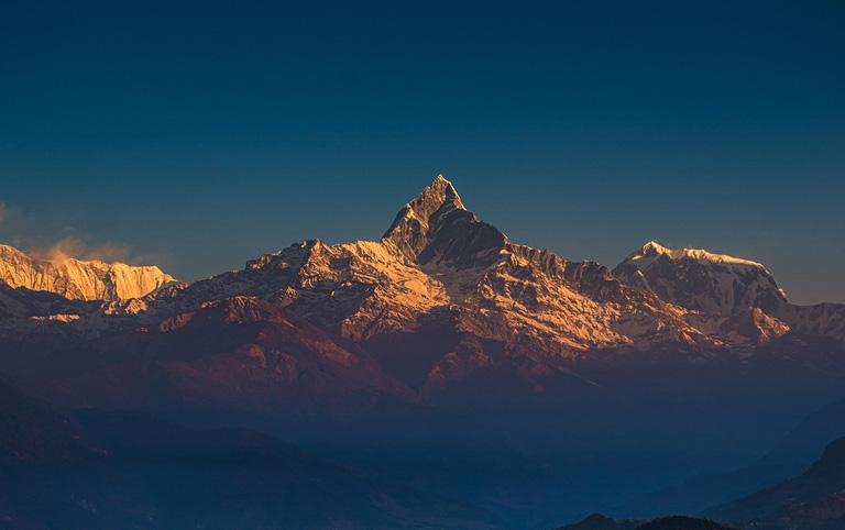 Watch Sunrise from Sarangkot in Pokhara