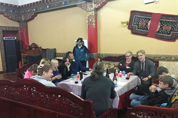 Catherine has helped many customers visit Tibet