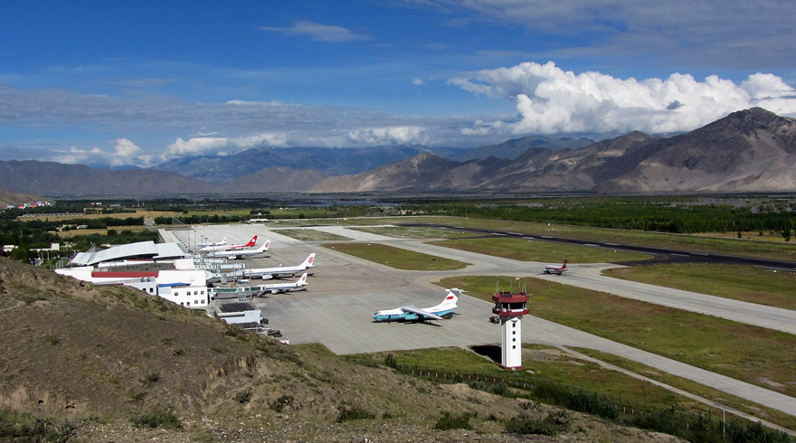 Image result for lhasa airport