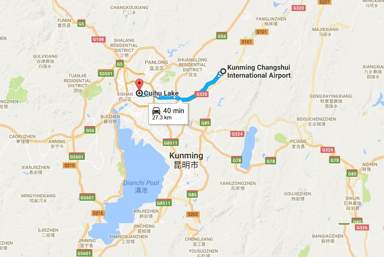 Kunming Lhasa Flights