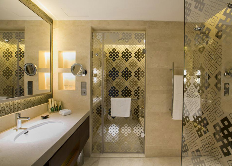 Bath Room of Shangri-la Hotel Lhasa