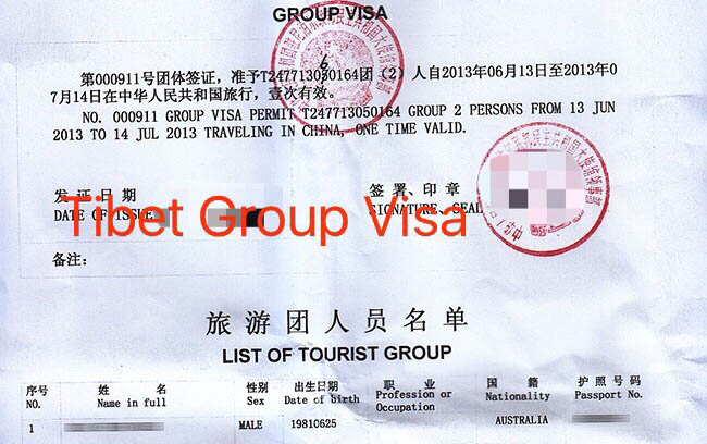 Visa and Permits for Nepal Tibet Tour