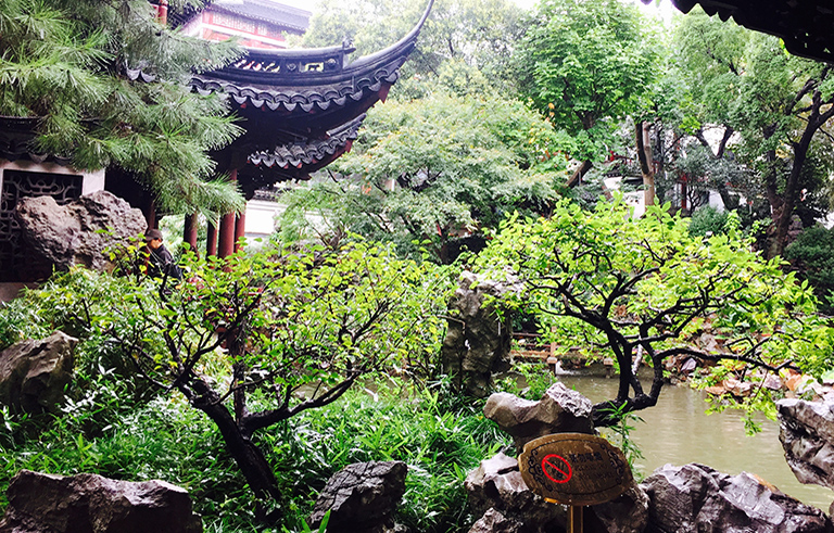 One Corner of Yu Garden