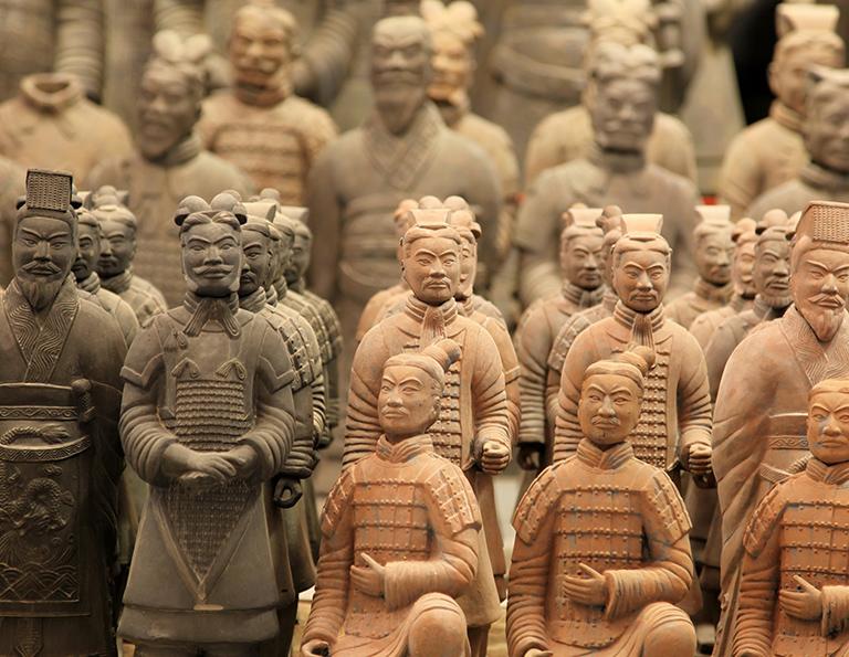 Terra-Cotta Warriors in Xi'an