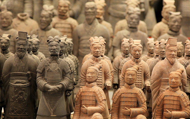 Terra-Cotta Warriors in Xi'an