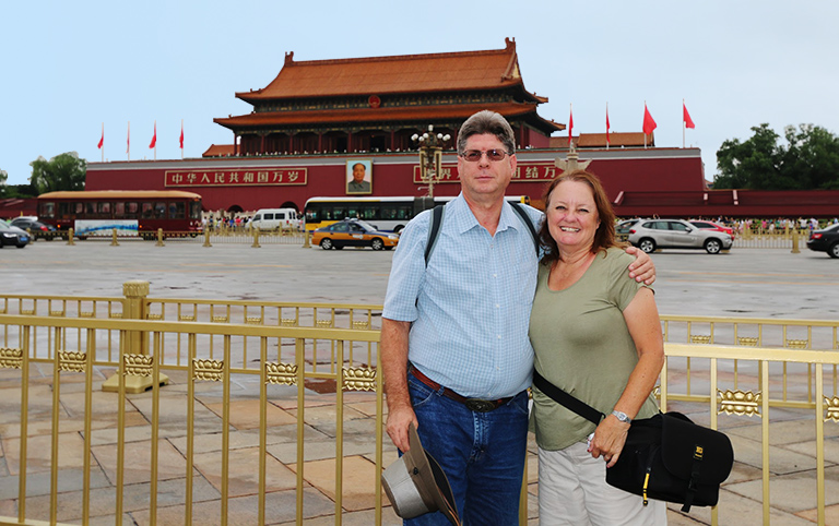 Tiananmen Square is the largest public square in the world
