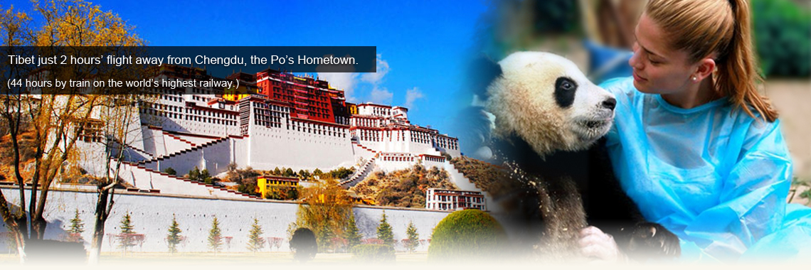 Tibet Tours from Chengdu by Train or Flight