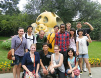 Foreign Students Travel in Chengdu