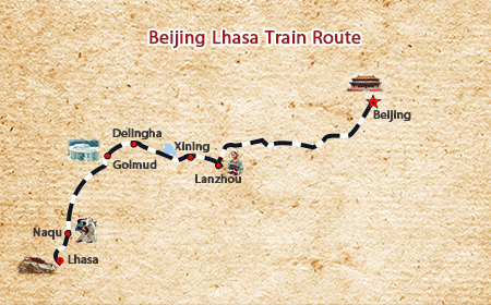 Beijing to Lhasa Train