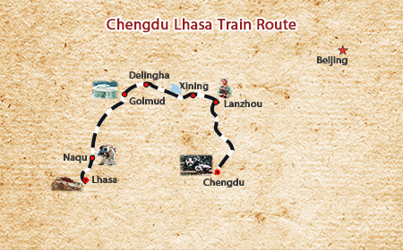 Chengdu Lhasa Train