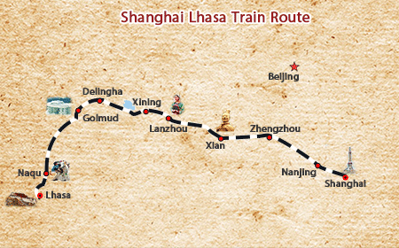 Shanghai Lhasa Train